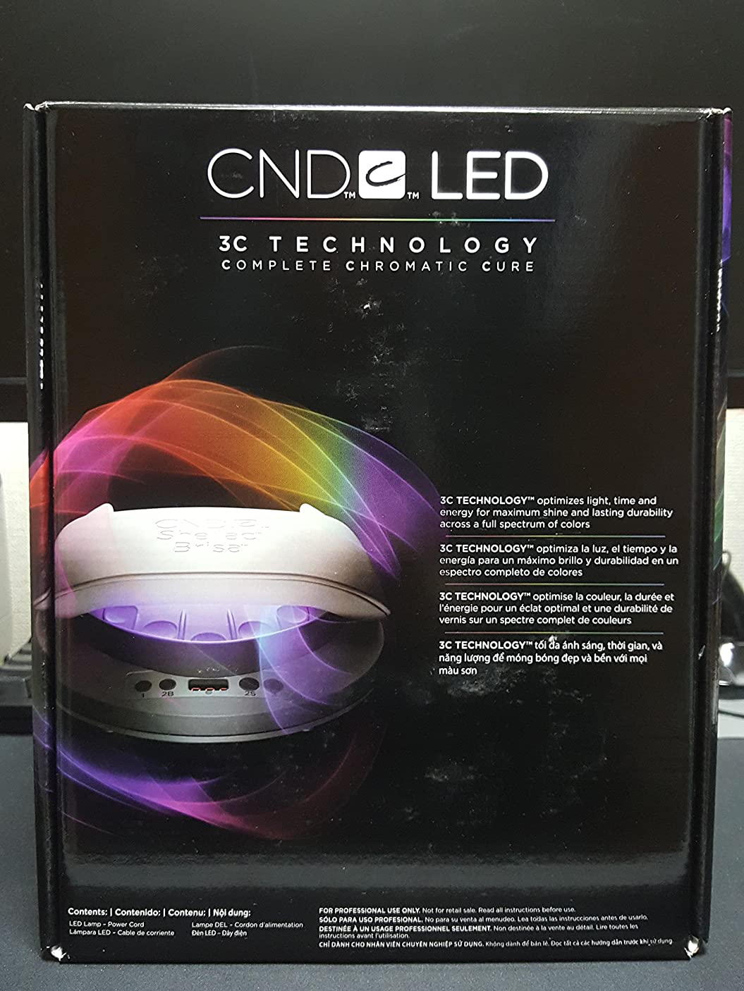 低下地上の入射CND LED Nail Lamp Light Gel Shellac 110-240V [並行輸入品]