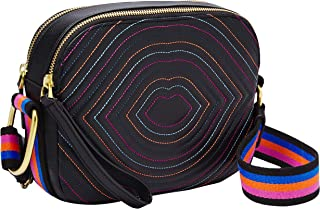 Elle Leather Crossbody Purse Handbag
