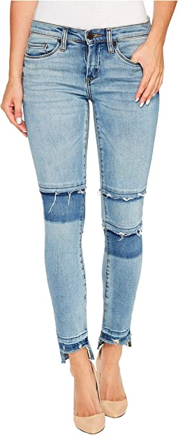 Novelty Raw Edge Denim Skinny in Fancy That
