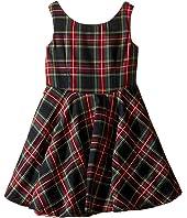 fiveloaves twofish - Little Party Tartan Dress (Toddler/Little Kids/Big Kids)