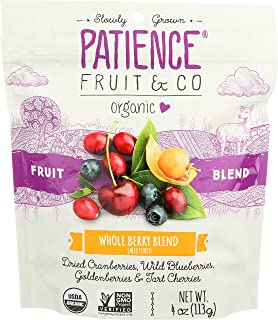 PATIENCE FRUIT & CO BERRIES 4 SFT WHL ORG 4OZ