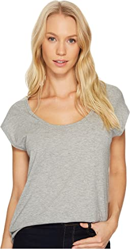 Alternative Organic Pima Cotton Melrose Scoop Tee