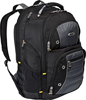 Targus Drifter II for Professional Business Commuter Backpack for 17-Inch Laptop, Black/Gray (TSB239US)