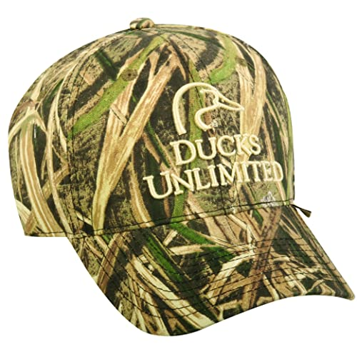 eebebecb1020b6 Mossy Oak Ducks Unlimited Shadow Grass Blades Structured Cap