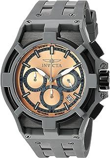 Invicta - 22370 - Reloj de Pulsera Hombre, Silicona, Color Gris