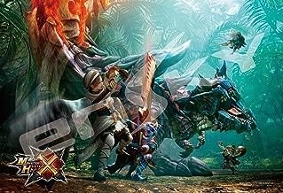 Japan Official Jigsaw Puzzle - Monster Hunter X Cross Zanryuu Dinovaldo 300 pcs Pieces Capcom Fantasy Dinosaurs Ensky