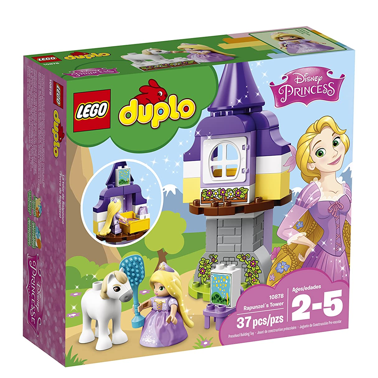 グリット傭兵類人猿レゴ(LEGO) デュプロ ラプンツェルの塔 10878