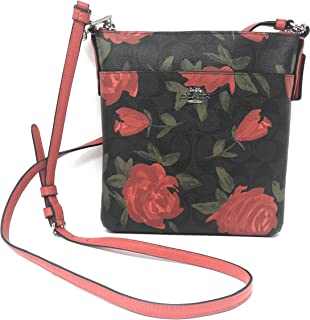 Women's Camo Rose Floral Printed Messenger Crossbody