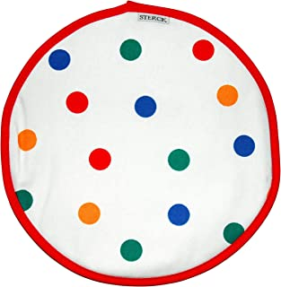 Sterck Cotton Round Multi Coloured Spotty Cook Aga Pads RNDPADSPM