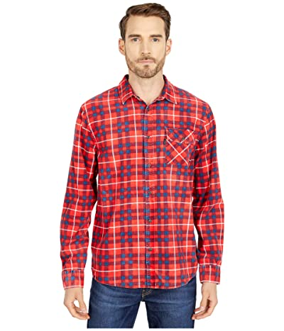 Rip Curl Return Long Sleeve Shirt (Bright Red) Men