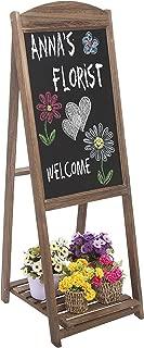 decorative chalkboard easel