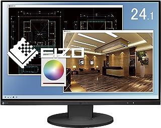 EIZO FlexScan 24.1インチ カラー液晶モニター ( 1920×1200 / IPSパネル / 5ms / ノングレア/ ブラック ) EV2455-BKR