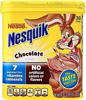 NesQuik Chocolate Powder Drink Mix, 18.7 Ounce