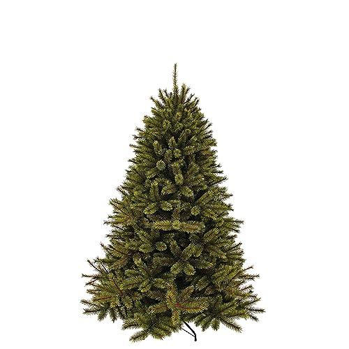 Triumph Tree 788041 Forest Frosted Pine Sapin de Noël artificiel 942 branches Vert Hauteur 185cm Diamètre 130cm