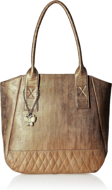 Butterflies Women's Handbag (Multi) (BNS 0590CPR)