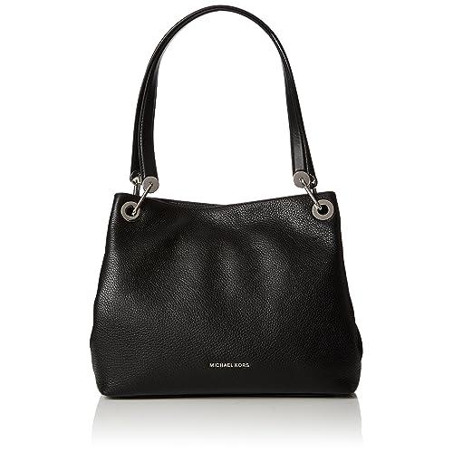 e39df2d269dc Black Handbags with Silver Hardware: Amazon.com