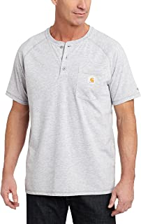 Carhartt Cotton Short Sleeve Henley Shirt