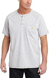Carhartt Men's Force Cotton Henley Shirt