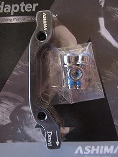 Hayes Hope Promax Alliage d/'aluminium 6061/Frein /à disque adaptateur avant 203/mm Post support//PM Fourchette au Post support//PM /Étrier de frein Noir Compatible avec toutes les marques telles que Shimano Avid Tektro Magura