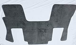 Avery's Floor Mat Compatible with Volvo VNL 2004-2018 and VT 2006-2010 - Gray Custom Fit Carpet 1 Piece Cab Floor Mat