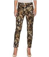Spring Safari Print Ankle Pants
