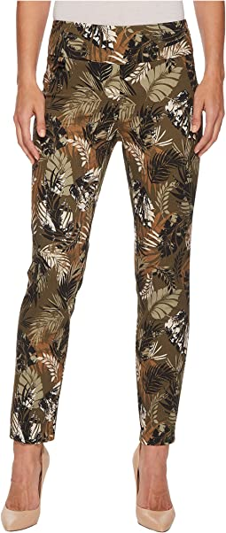 Spring Safari Print Ankle Pants