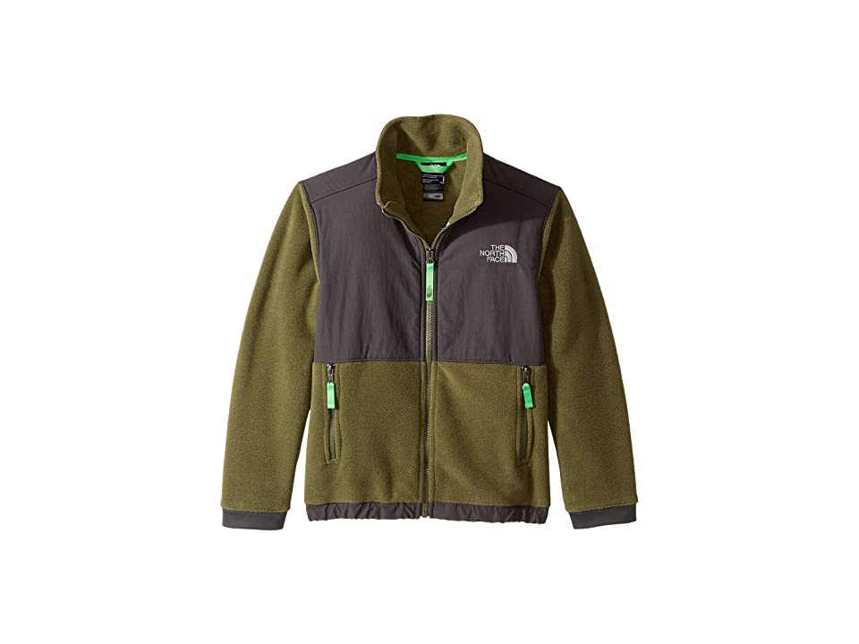 The North Face Kids Denali Jacket (Little Kids/Big Kids) (Burnt Olive Green (Prior Season)) Boy