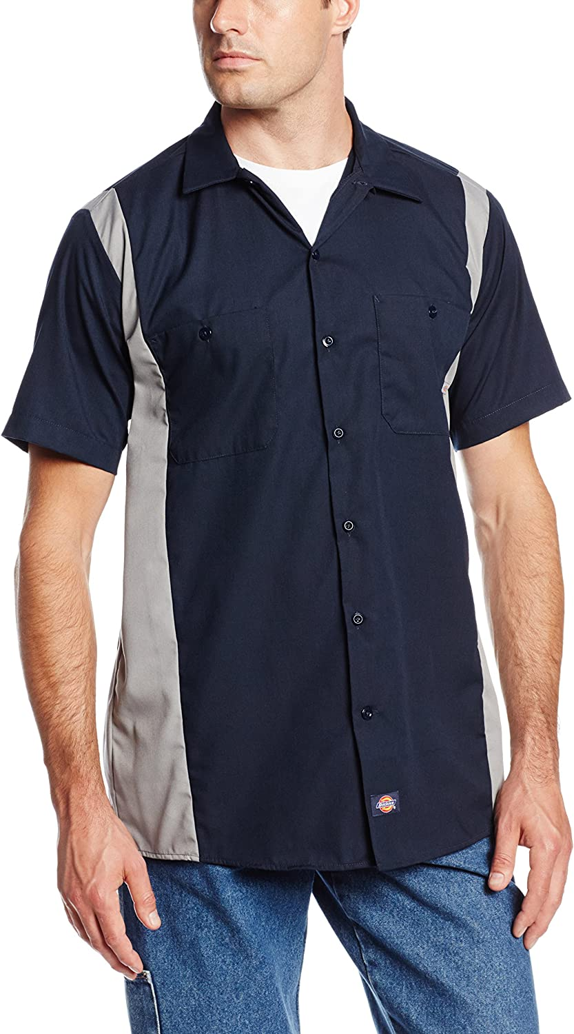 Dickies Occupational Workwear LS524DNSM Free shipping / New Polyester S 2021 model Men's Cotton