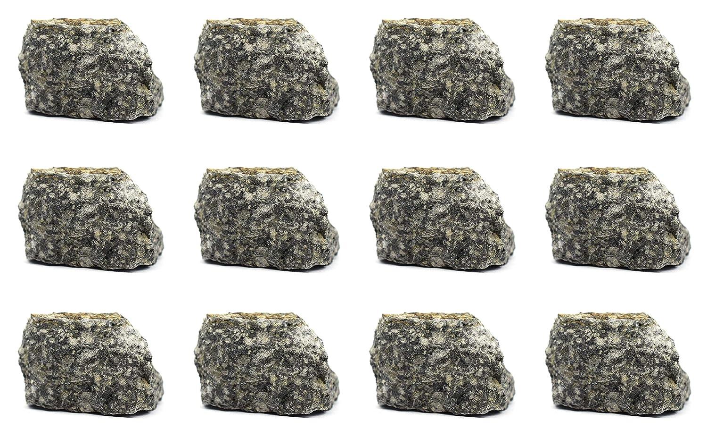 12PK Raw Andesite Igneous Rock High material Geologi 1