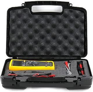 Hard Storage Carrying Case for Fluke Industrial Electronics Multimeter Combo Kit Fits Fluke Industrial Thermometer Combo Kit and Accessories