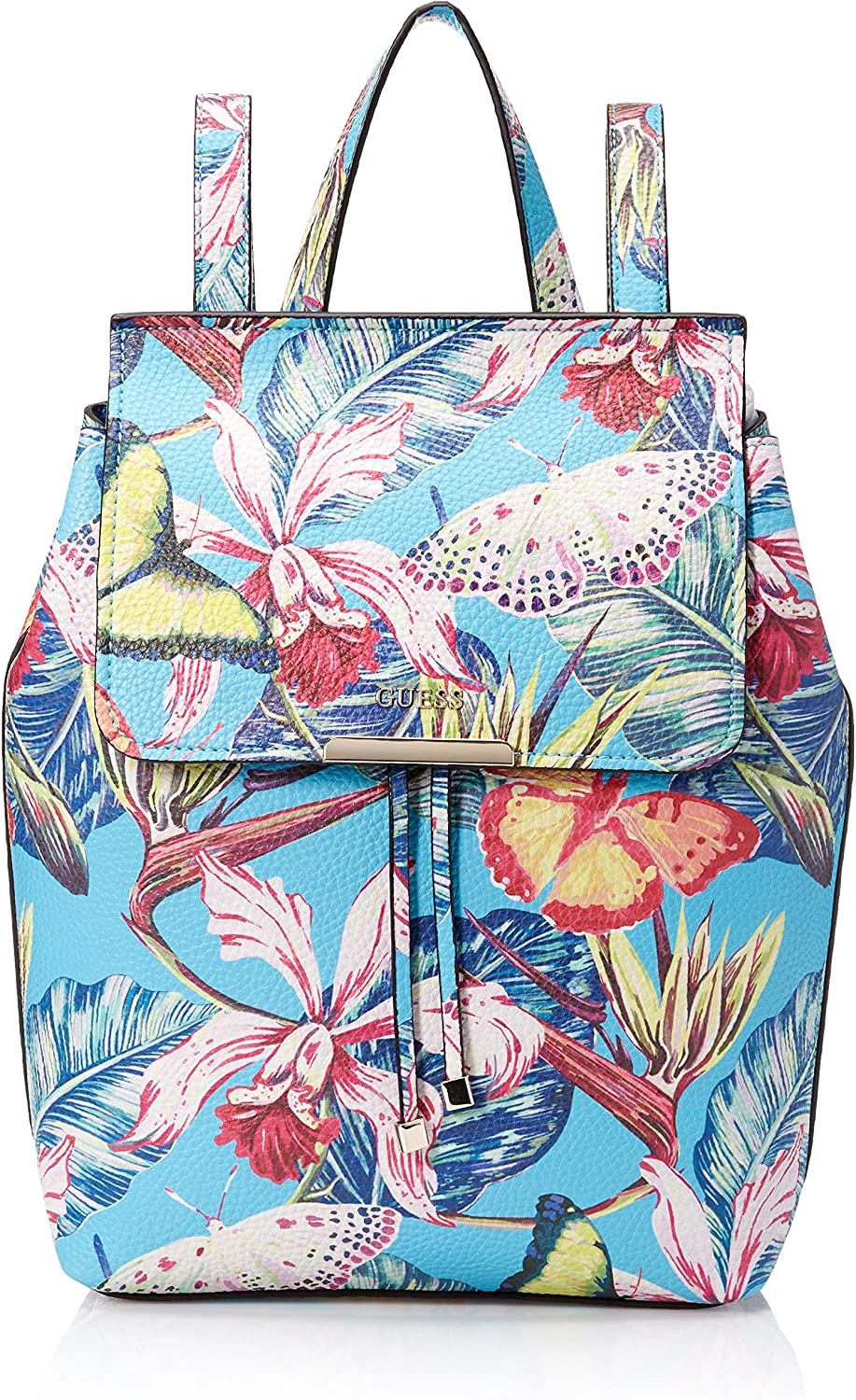GUESS Varsity Pop Palm Backpack