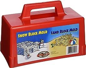 Flexible Flyer Snow Fort Building Block, Sand Castle Mold, Beach Toy Brick Form