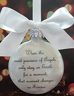 Baby Memorial Ornament - The Most Precious of Angels - In Memory of Child Loss Sympathy Gift