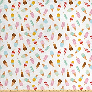 ice cream fabric by the yard