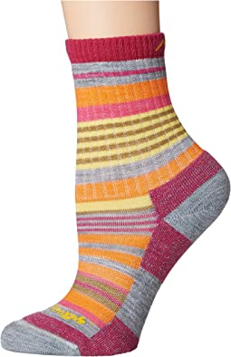 Darn Tough Vermont Sierra Stripe Micro Crew Light Cushion Socks (Toddler/Little Kid/Big Kid)