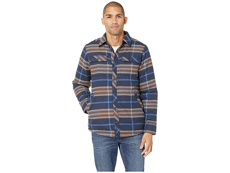 Outdoor Research Kalaloch Reversible Shirt Jacket (Naval Blue Plaid) Men