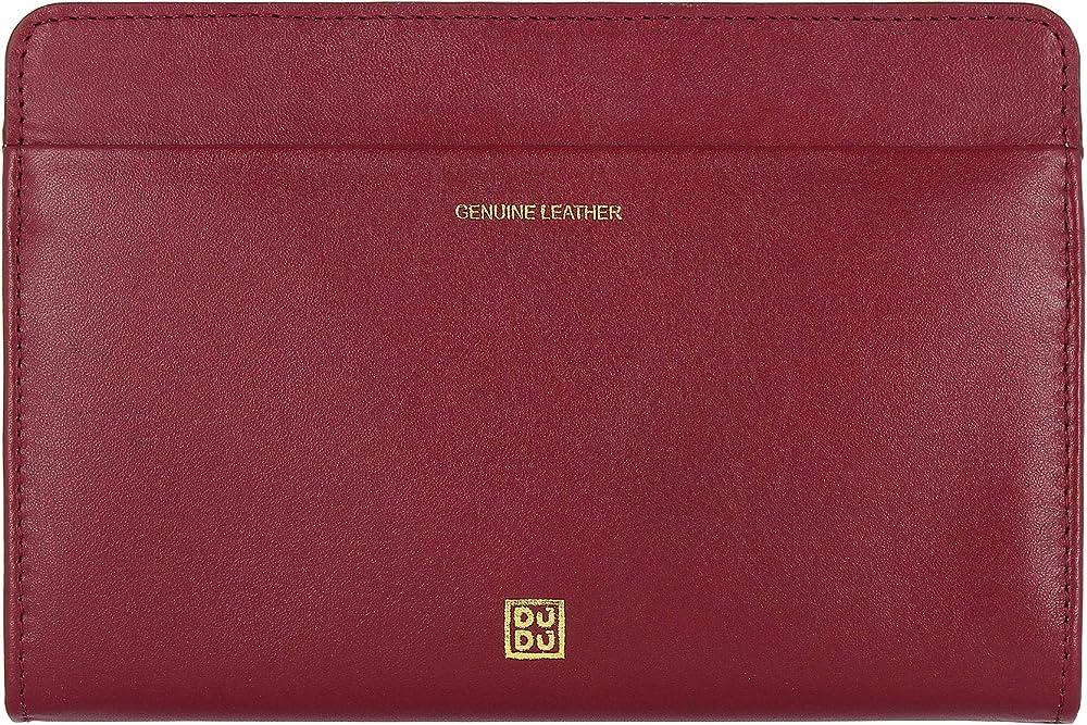 Dudu portafoglio da donna in pelle morbida porta carte di credito 8031847167221