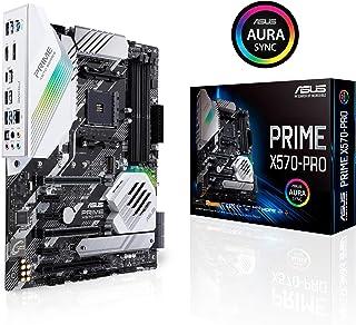 ASUS PRIME X570-PRO - Placa base ATX AMD AM4 con PCIe Gen. 4, dos M.2, HDMI, SATA 6 Gb/s y conector USB 3.2 Gen. 2 en el panel frontal