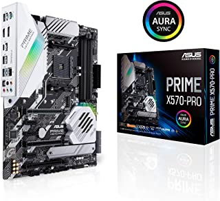 ASUS Placa Prime X570-PRO Prime X570-PRO, AMD, ZÓCALO AM4, AMD RYZEN, DDR4-SDRAM, DIMM, 128 GB