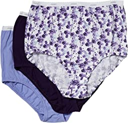 Jockey - Plus Size Classics Full Cut Brief 3-Pack