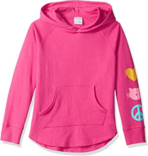 Amazon Brand - Spotted Zebra Girls' Toddler & Kids French Terry Pullover Hoodies