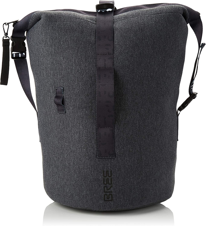 BREE Collection Sumo 3, Dark Grey, Cross Kit Bag S19, Women's Backpack Handbag, Grey (Dark Grey), 30x30x19 cm (B x H T)