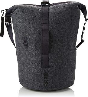 BREE Collection Damen Sumo 3, Dark Grey, Cross Kit Bag S19 Rucksackhandtasche Grau (Dark Grey)