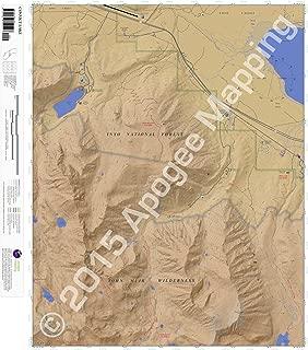 Convict Lake, California 7.5 Minute Topographic Map - Waterproof Paper
