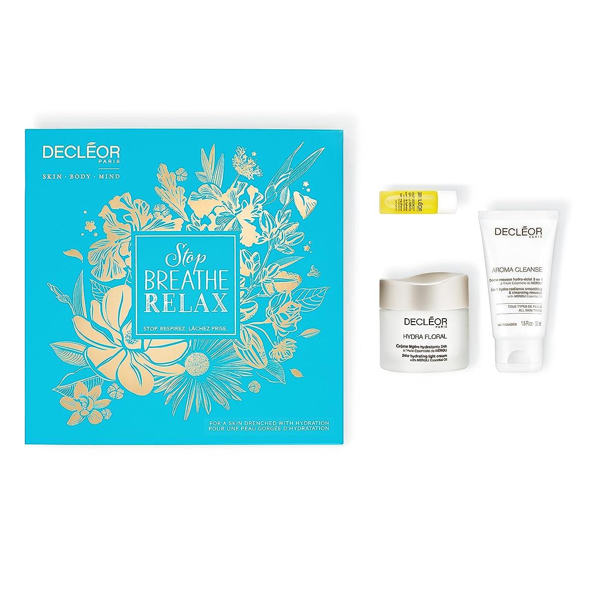 純粋にアジテーション味デクレオール Stop.Breathe.Relax Holiday Kit:Cleansing Mousse 50ml+ Hydrating Oil Serum 5ml+ 24hr Hydrating Light Cream 50ml 3pcs並行輸入品