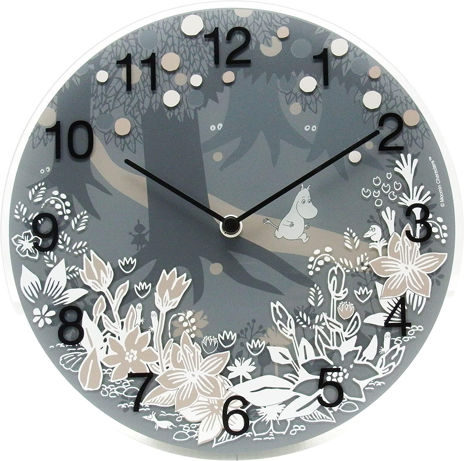 Pee Pseudorabies POS Moomin Timepieces Moomin Time Pieces wall clock Moomin in the forest MTP-03-0008 by POS