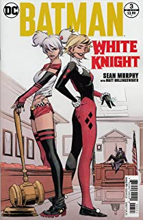 Batman: White Knight #3 (of 8) Harley Quinn Classic and Modern Variant Edition