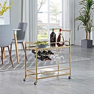 FirsTime & Co. Gold Francesca Bar Cart, American...