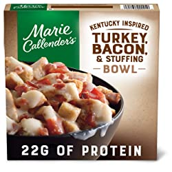 Marie Callender's Kentucky Inspired Turkey, Bacon & Stuffing Bowl, 11 oz.
