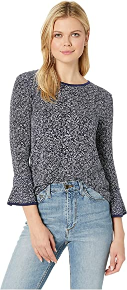 Floral Mix Sleeve Top